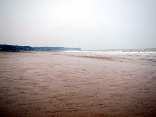 omaha beach west view