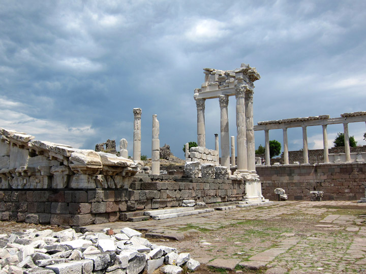 Part of the Palace complex, Pergamon