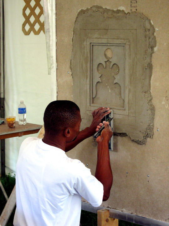 Kenya plaster relief decorations