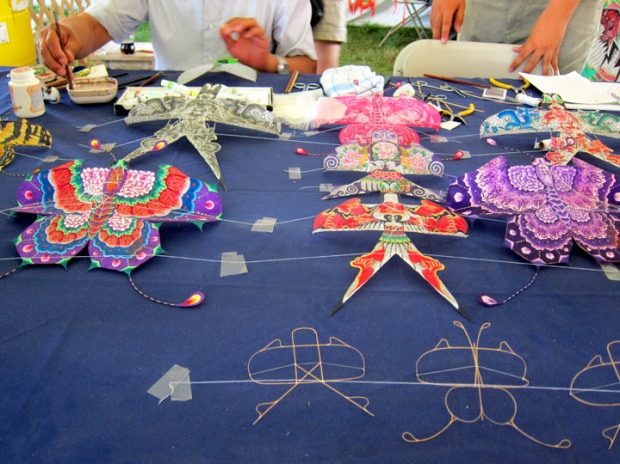 small Chinese butterfly kites
