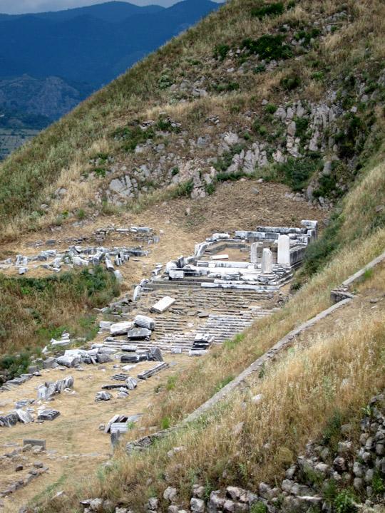 Temple of Dionysius, Pergamon