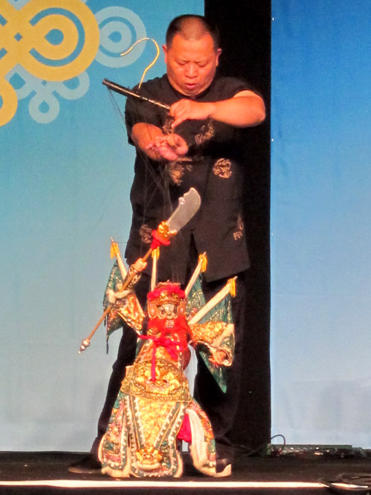 Warrior puppet, Quanzhou Puppet Troupe