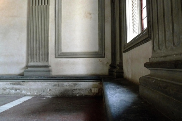 Pazzi Chapel interior detail