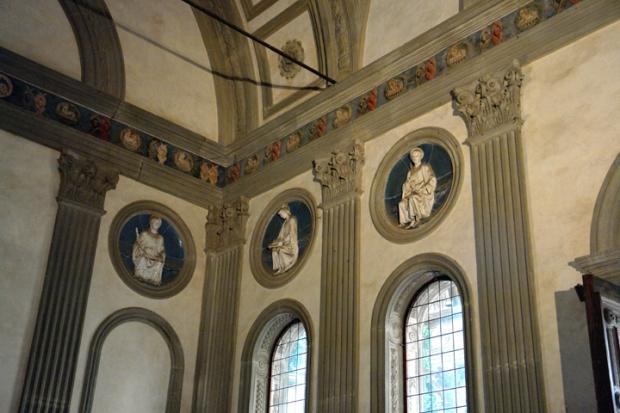 Pazzi Chapel tile details