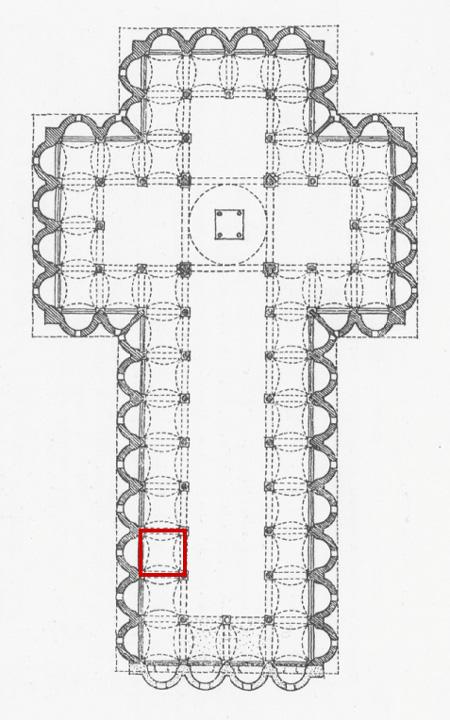 Santo Spirito floor plan.
