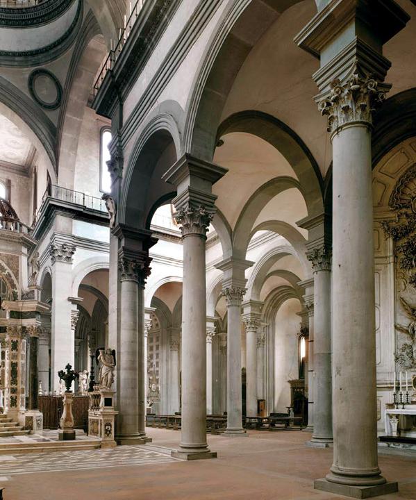 Interior of Santo Spirito, Florence