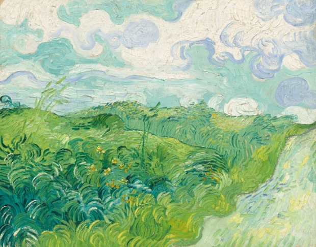"Vincent van Gogh - ""Green Wheat Fields, Auvers"""