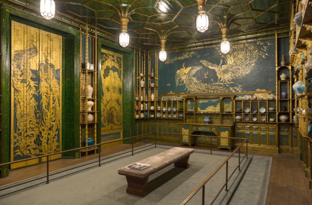 The Peacock Room, 1908