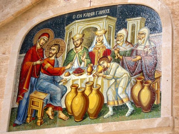 Cana miracle mosaic