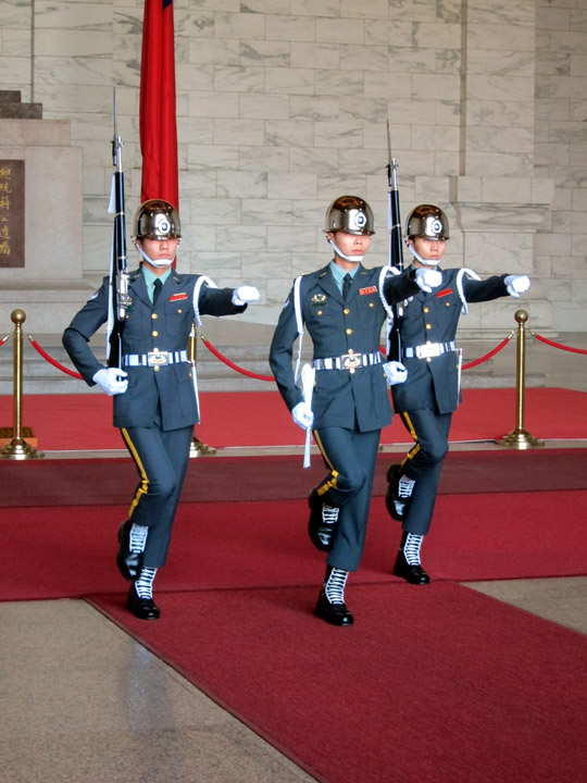 Changing of the Guard at the Chiang Kai‑shek Memorial