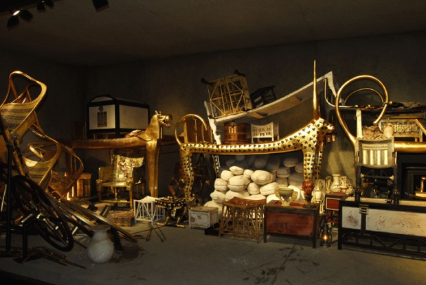 Reproduction of King Tut's tomb