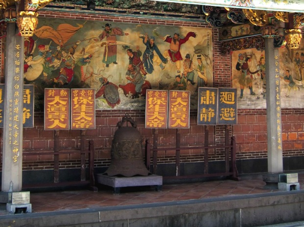 wall paintings, Baoan Temple