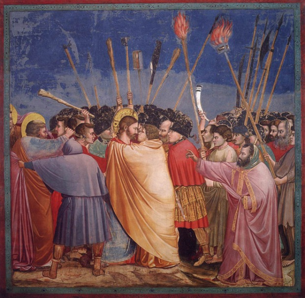 "Giotto - ""The Arrest of Christ (Kiss of Judas)"", Scrovegni Chapel"