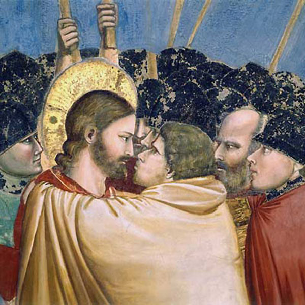 Judas kiss, Betrayal of Christ