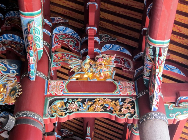 Chinese lion decoration