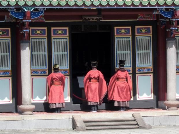 Confucian deacons ceremony
