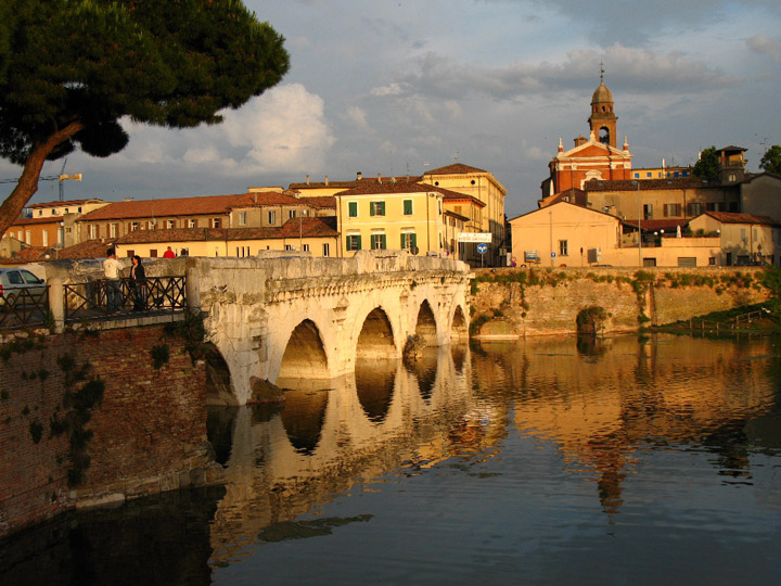 Tiberius Bridge, Rimini