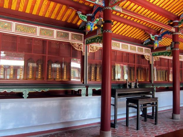 Confucius Temple, name plaques, Taipei