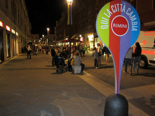 Rimini Festival City Sign