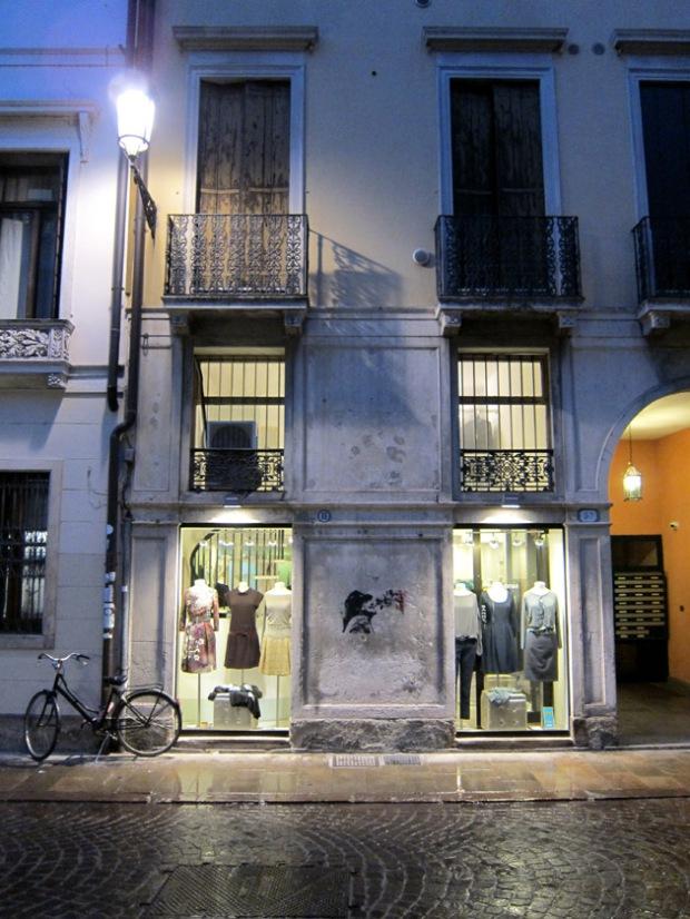 Italy shopping street