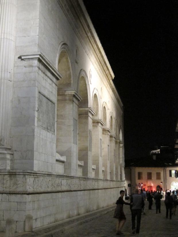 architecture Tempio Malatestiano, Rimini