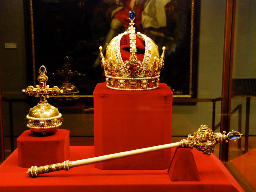 Imperial Crown, Orb, and Sceptre of Austria