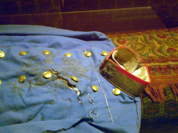 Franz Ferdinand's death suit