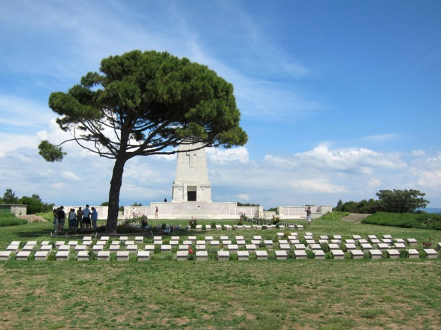 Lone Pine Cemetery, Gallipoli, Turkey.