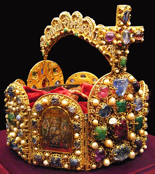 11th century Imperial Crown of the Holy Roman Empire