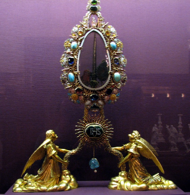 Mid-17th century reliquary for a crucifixion nail