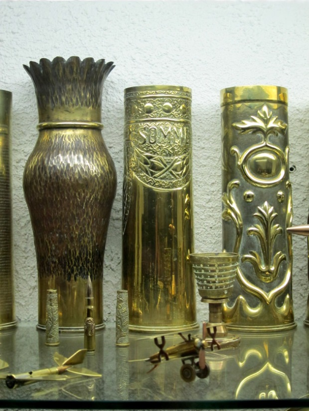World War I trench art from France