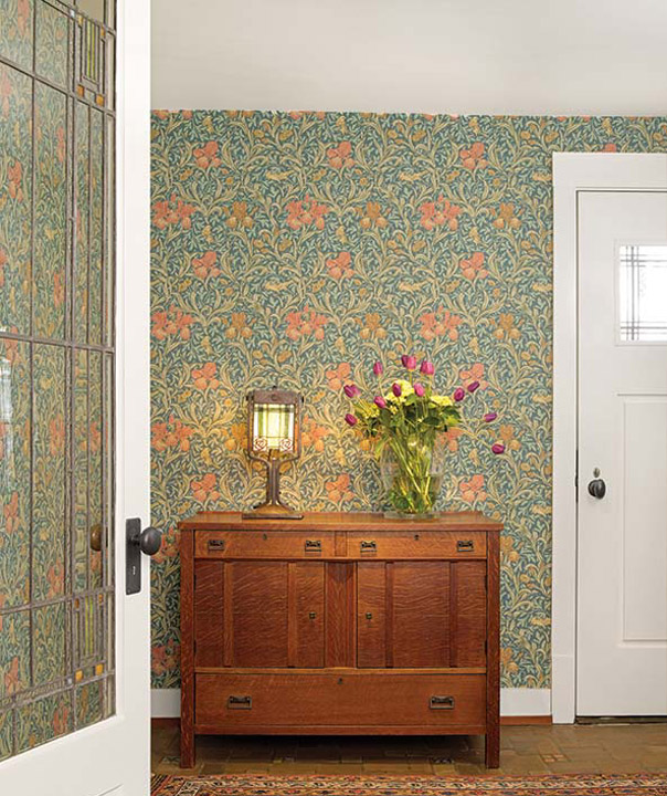 Arts And Crafts House, Morris Wallpaper