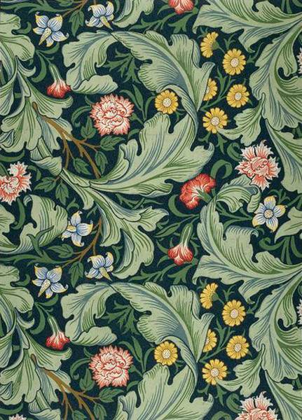 William Morris, Leicester Wallpaper