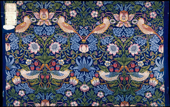 A Vision Of Nature The Designs Of William Morris