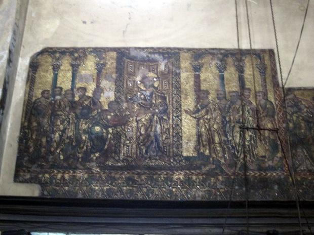 12th century wall mosaics