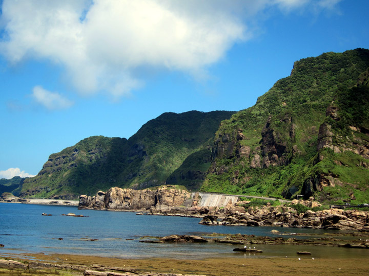 Beautiful Northern Taiwan coastline