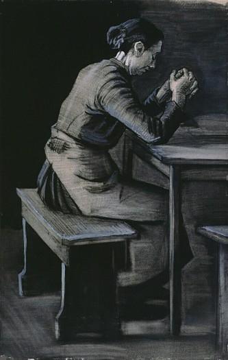 Vincent Van Gogh - Gebed voor de maaltijd (Prayer before meals)