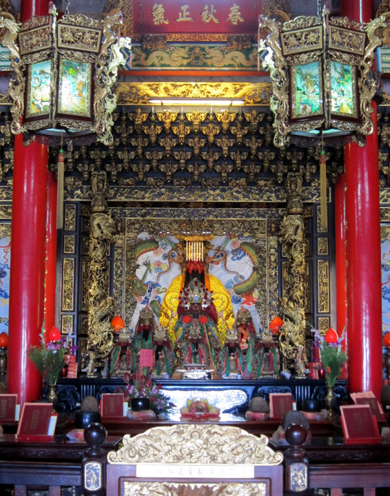 inside Shengming Temple