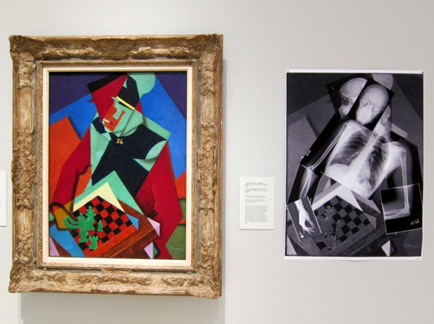 "Smart Museum of Art at the University of Chicago.  Jean Metzinger's ""Soldier at a Game of Chess"""