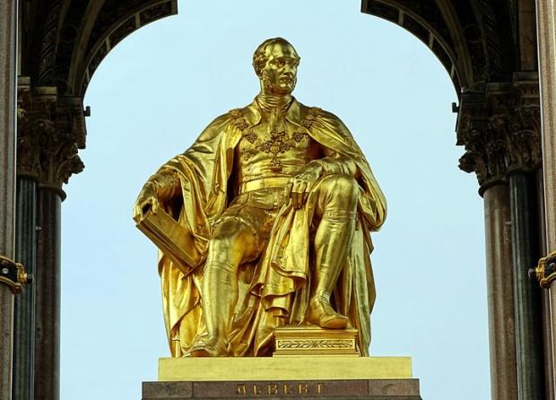 Prince Albert memorial statue, London