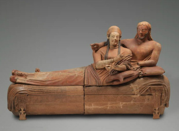 Etruscan Sarcophagus of the Spouses, Louvre
