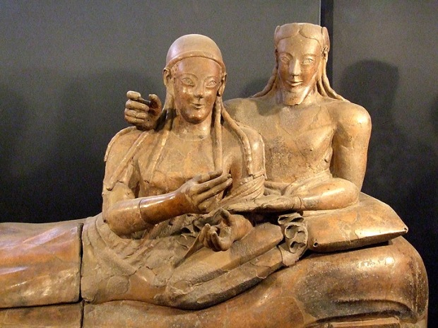 Etruscan Sarcophagus of the Spouses Rome