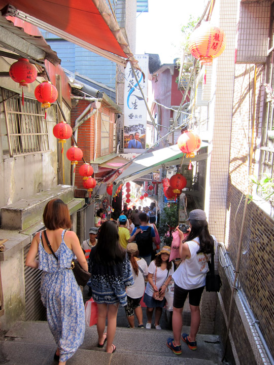 staircase Jiufen