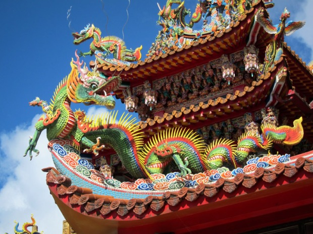 dragon, Shengming Temple