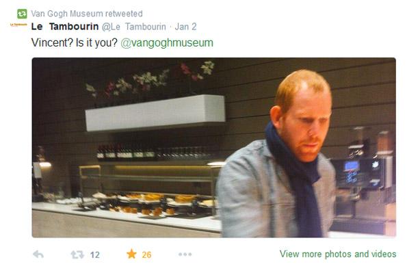 Van Gogh tweet