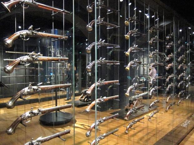 The Gun Room, Rijksmuseum basement