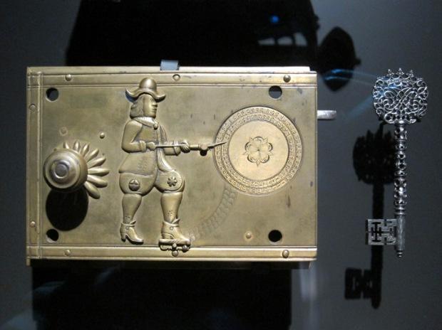 beautiful historical Dutch lock