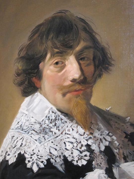 """""""Portrait of a Man"""" by Frans Hals (c. 1635) Rijksmuseum"""