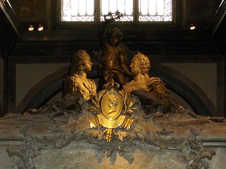 Maria Theresa's tomb