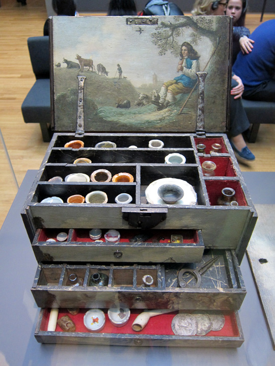 Dutch painters box